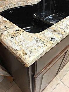 granite edge 1 4 beveled edge traditional kitchen