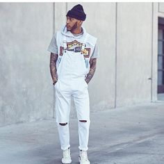 Dungarees, Men's Overalls, Menswear, Hipster, Guys, Street Styles, Fashion, Moda, Hipsters