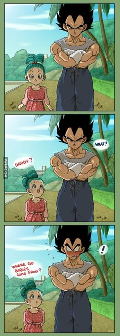 Poor Vegeta, that question is over 9000!