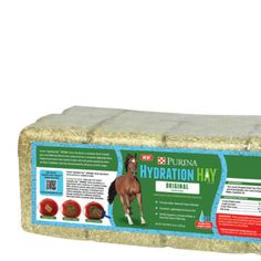 Purina® Hydration Hay Horse Hay Block, Original - Tractor Supply Co. Compact, great when traveling.