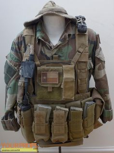 Lone Survivor Marcus Luttrell Screen Matched Costume and Webbing original movie costume
