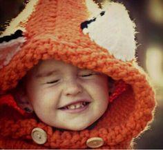 Ski-Winter-Fox-Beanie-Baby-Kids-Warm-Hat-Hooded-Scarf-Earflap-Knitted-Wool-Cap