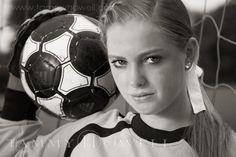 senior photo shoot for soccer Soccer Poses, Soccer Senior Pictures, Soccer Shoot, Soccer Photography, Senior Portrait Photography, Senior Portraits, Senior Posing, Senior Session, Photography Poses