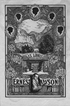 Ex Libris Ernest Dawson