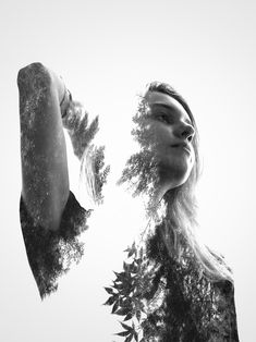 New in My Modern Shop: Surreal Double Exposures by Erkin Demir