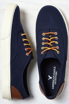 American Eagle Outfitters Indigo American Eagle Canvas Sneaker American  Eagle Shoes 997e218c7dc