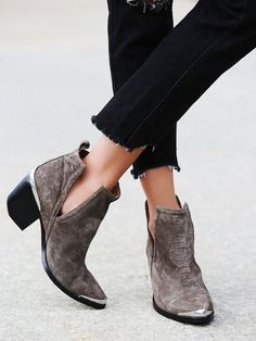 8638a473bc6 Анастасия Мишина-Пулижи Silver Ankle Boots