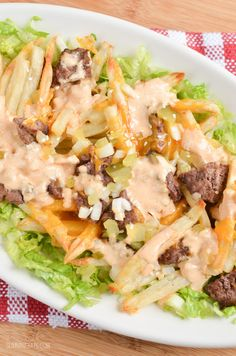 Yes you read that right – Big Mac Fries all in one dish. This is delicious! What is about McDonalds that draws us in? It's like a drug, we know it's bad for us, but you can't help but crave it. Their main burger loved by all is a Big Mac – beef patties, topped...Read More »