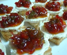 Canapes, Preserves, Waffles, Dips, Cheesecake, Food And Drink, Appetizers, Breakfast, Desserts