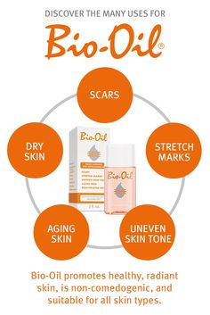 Discover the many uses for Bio-Oil.