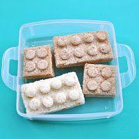 Lego Sandwiches for kids #Recipe #Kids #KidsLunch
