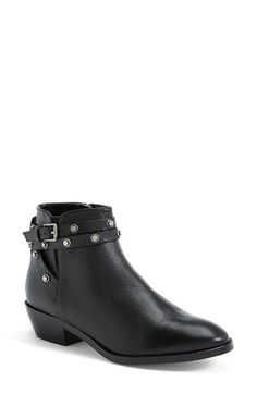 Halogen 'Lidia' Studded Leather Ankle Bootie (Women) available at #Nordstrom