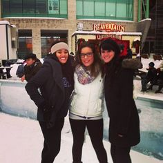 A day filled with skating and BeaverTails pastries? Must be winter in Ottawa!  Photo by stephanielaur25