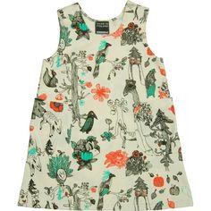 Aarrekid enchanted forest print dress #kidswear