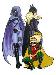 Stephanie Brown!!!! AKA Spoiler, Robin IV, & Batgirl III.