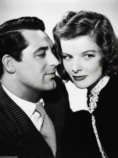 Cary Grant & Katherine Hepburn in Holiday