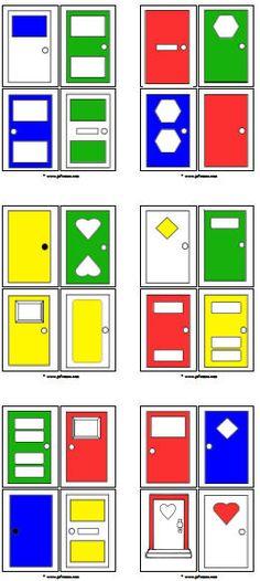 Sleutels en deuren downloads » Juf Sanne You've Got Mail, Preschool Printables, Post Office, Craft, Poster, Teaching, Houses, Education, Geometric Fashion