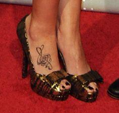 Hilary Scott foot tatooes | Tattoos on the Foot - Best Tattoos - StyleBistro