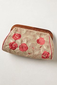 Boracay Frame Clutch from Anthropologie