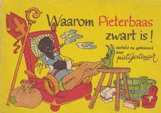 Waarom Pieterbaas zwart is Archetypes, Paper Dolls, Holland, Lettering, Humor, History, Funny, Libraries, Nostalgia