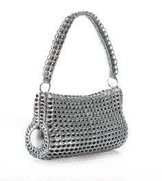 Danubia Shoulder Bag by escamastudio (fair trade soda can tab handbag)