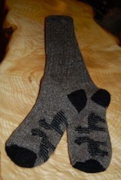 Extreme Alpaca Socks from the Crystal Lake Alpaca Farm