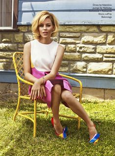 Elizabeth Banks by Chad Pitman for The Edit June 2015