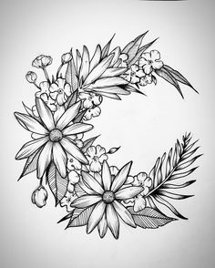 Fresh WTFDotworkTattoo Find Fresh from the Web 꽃달 #blackwork #dotwork #linework…