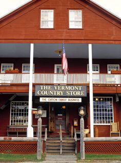 another Vermont Family Run Business. Country Store, Weston. Vermont.