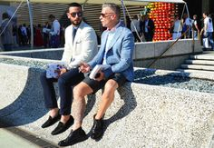 Josh Peskowitz and Nick Wooster [as fresh as you can]