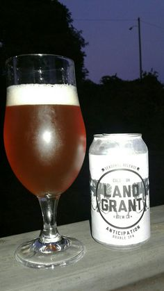 Land Grant Brew Co., Columbus, OH - Anticipation Double IPA - 8.7% ABV