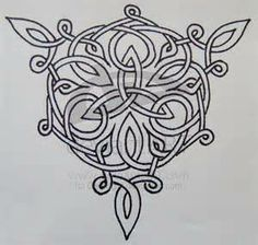 Images Of Celtic Thistle Knotwork