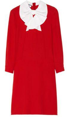 Drop waist bow dress by Moschino