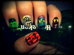definitivamente ame mi super calabaza+frankie+momia+zombie+hombre lobo #LookUñesco >u