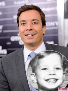 Celebrities As Kids Jimmy Fallon