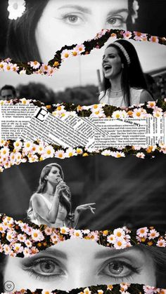 Lana Del Rey Lockscreen by TheYellowWorld