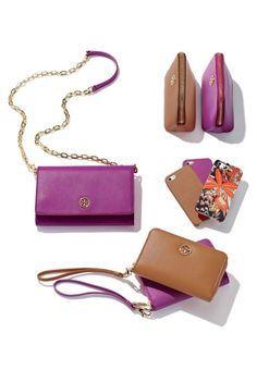 Tory Burch accessories.
