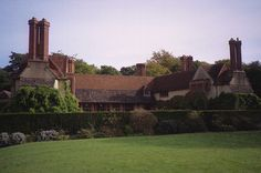 Goddards, Abinger Common, Surrey (1898-1900, extended 1910), designed by Edwin Lutyens
