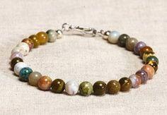 Manic Organic Gemstone Bracelet