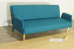 COPENHAGEN 3 Seat Sofa/ Sofa Bed in Blue Color , Sofa & Ottoman, NZ's Largest Furniture Range with Guaranteed Lowest Prices: Bedroom Furniture, Sofa, Couch, Lounge suite, Dining Table and Chairs, Office, Commercial & Hospitality Furniturte