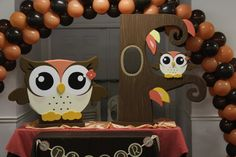 Owl Baby Shower Baby Shower Party Ideas | Photo 10 of 10 | Catch My Party