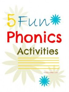 Focus on Phonics Activities with Mom's Library