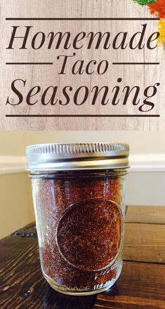 It can be hard to find taco seasoning in the stores that is Whole 30 Approved. Make your own Whole 30 Taco Seasoning with a few simple ingredients! Homemade Steak Sauces, Homemade Taco Seasoning, Seasoning Mixes, Canning Vegetables, Homemade Ranch Dressing, Fruit Infused Water, Fudge Sauce, Dessert, Whole 30
