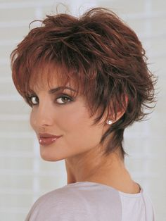 short shag cut short shag cut More from my siteShort Shag Hairstyles for Women Over 50 Shaggy Short Hair, Short Shaggy Haircuts, Short Shag Hairstyles, Hairstyles Haircuts, Popular Hairstyles, Cowlick Hairstyles, Curly Haircuts, Short Haircut, Formal Hairstyles