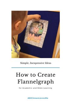 Flannelgraph is a fantastic method to teach young children as it covers all forms of learning styles. But, I understand that flannelgraph sets are an investment that not all desire to purchase. Good news! There are ways to create your own academic and Bible flannelgraph for a fraction of the cost. #flannelgraph #preschoollearning #OurOutofSyncLife