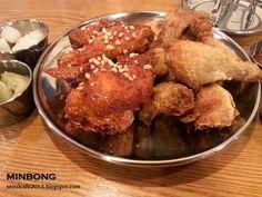 SEOUL CAFE eat...travel...coffee...and KOREA!: 누나홀닭 (์NOO NA HOL DAK) ไก่ทอดร้านนี้ พี่สาวกำลังมีความรัก