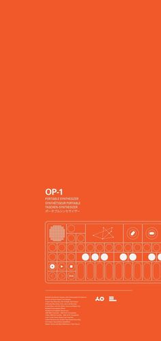 Eric Littlejohn / Teenage Engineering / OP-1 / Banner / 2014