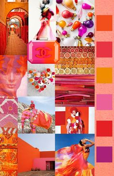 The Style Council. SS 2016. This season we are loving these spicy reds, citrus oranges, and refreshingly juicy pinks. These tangy hues are just the right amount of pop to complement our summer ethnic patterns!
