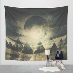 Buy We are children of the moon Wall Tapestry by HappyMelvin. Worldwide shipping available at Society6.com. Just one of millions of high quality products available.