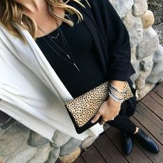 Leopard print: the new neutral. #icovet #stelladotstyle #fashion #jewellery #jewelry #ootd #leather #handbag